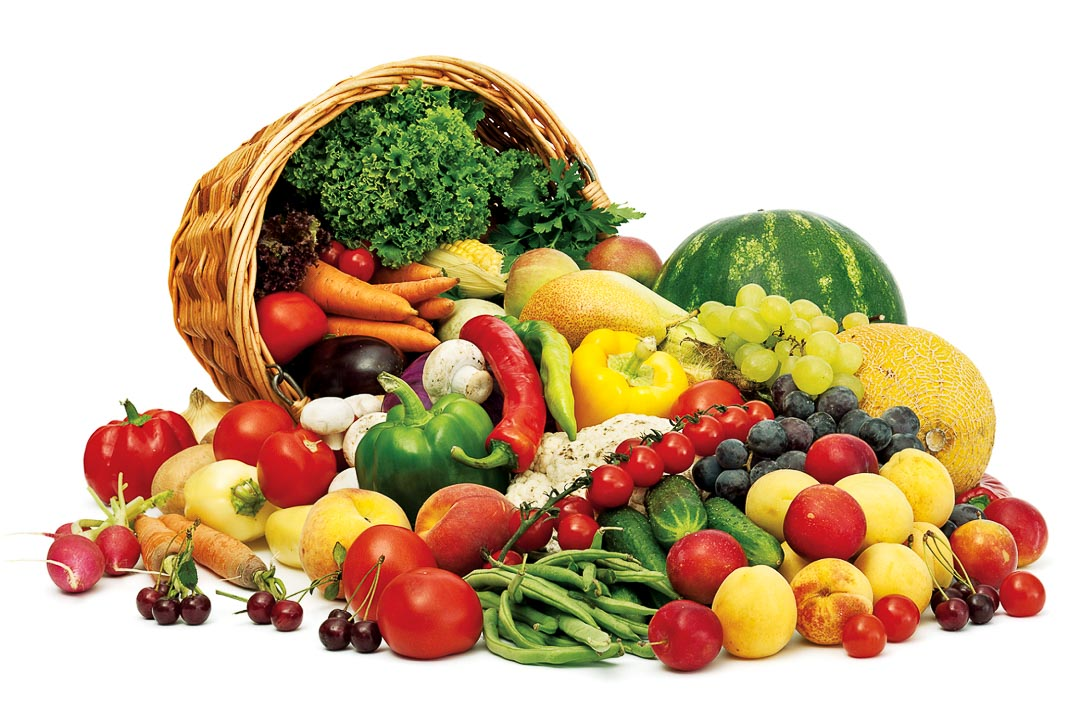Bổ sung nhiều rau xanh và hoa quả